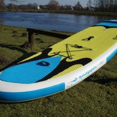Aufblasbares SUP Board - Stand Up Paddling im Wildwasser!