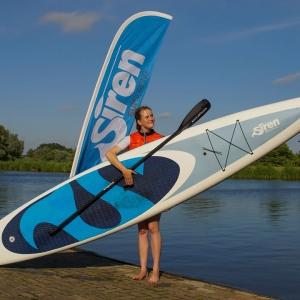 SIREN SUPsurfing Raceboard Touringboard