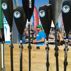 SUP Surf Festival in Fehmarn Paddel