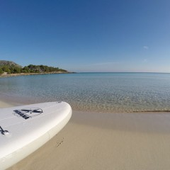 Traumstrand Meer Stand Up Paddling