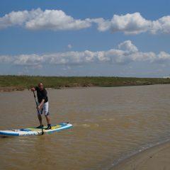 Supsurfing Fluss Siren