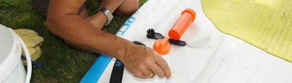 Sup Boards Reparatur