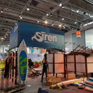 boot Messe 2018 - Aufbau Messestand