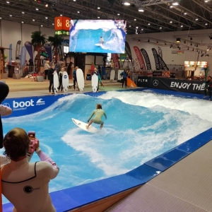 boot Messe 2018 - Surf Wavepool