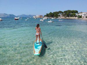 Mallorca SIREN SUP Surfing