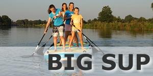 BIG SUP für Gruppen Spass auf dem Stand Up Paddleboard