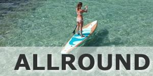 Die besten aufblasbaren SUP Allround Boards