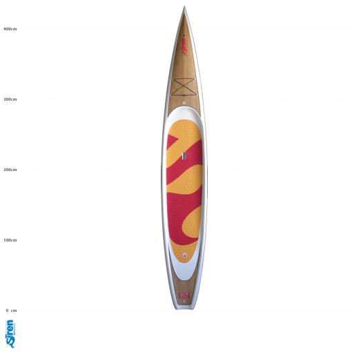 Das schnellste Carbon Race SUP Board von SIREN SUPsurfing: cobia 14.0 RC