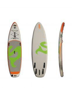 Das beste Wildwasserboard aus dem Hause SIREN SUPsurfing: snapper 10.2 HCT