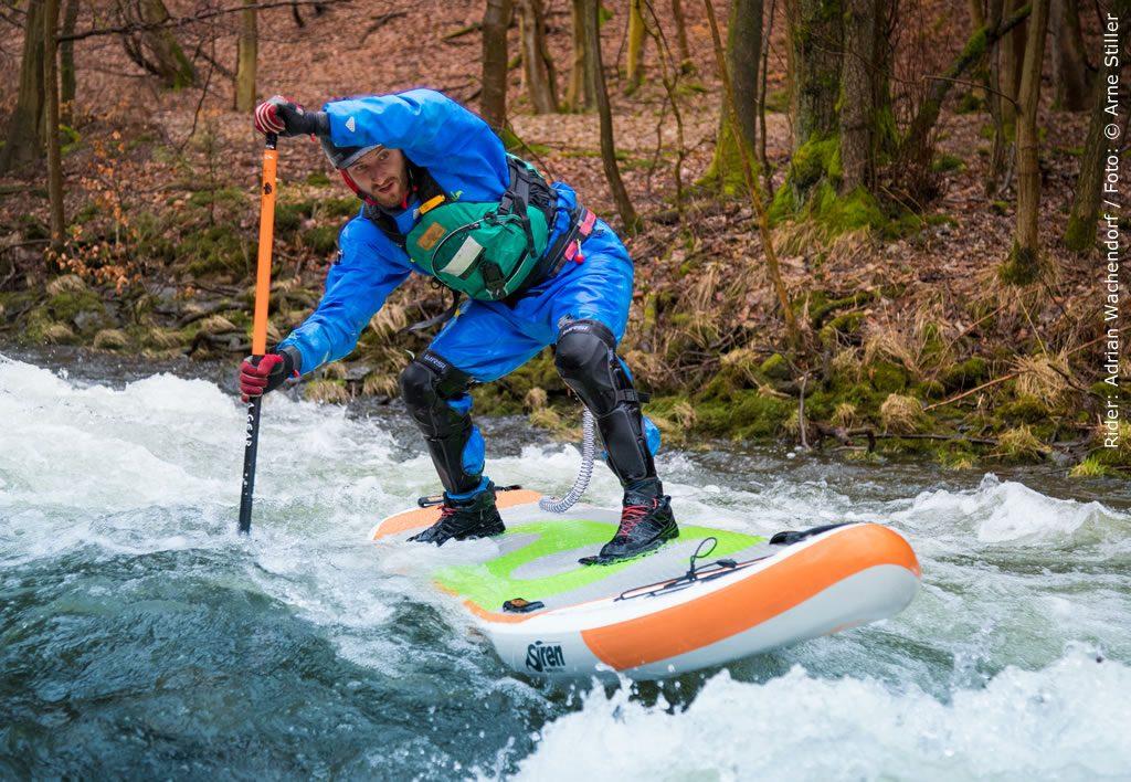 SUP Wildwasser bestes SUP Board von SIREN ist der Snapper in zwei Versionen