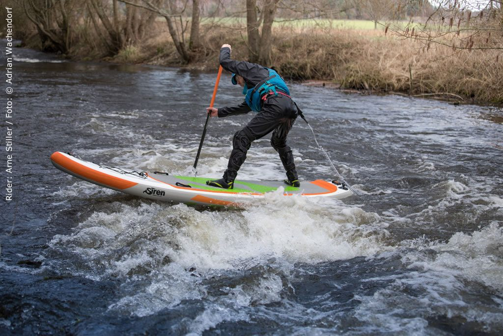 Wildwasser Test SUP Board: SIREN snapper 10.2