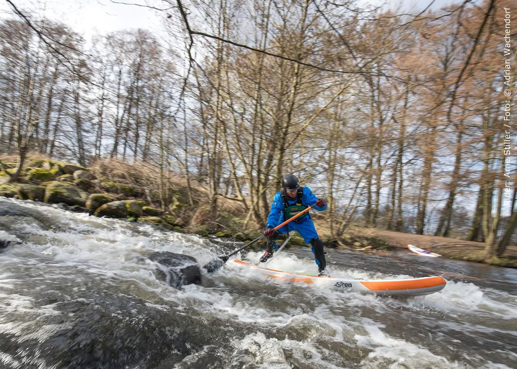 Hardcore Wildwasser SUP Board im Test