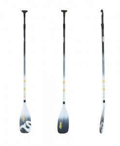 Vollcarbon Paddel mit ergonomischen Schaft für Stand Up Paddler