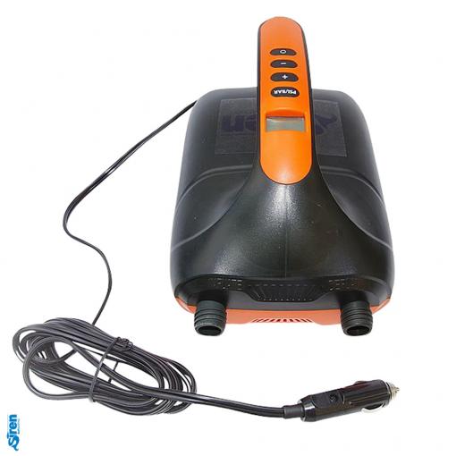E-Pumpe für SUP Boards mit Deflate und Inflate