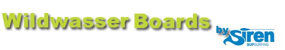 Wildwasser SUP Boards von SIREN SUPsurfing