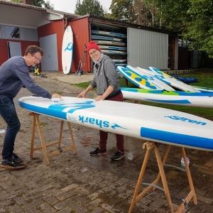 Gebrauchte SUP Boards von SIREN SUPsurfing