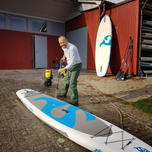 SUP Boards generalüberholt von Roadshow und Testveranstaltung