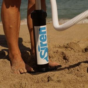 Kleine SUP Pumpe für das Reisegepäck