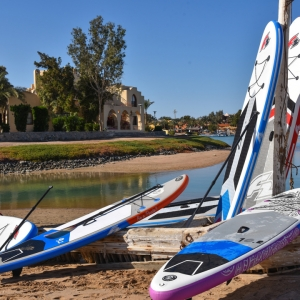 SUP Camp El Gouna mit inflatable Boards