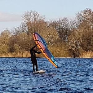 Allround SUP mit Wing Surf Option