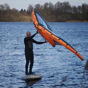 Siren mahi Allroundboard auf für Wingriding