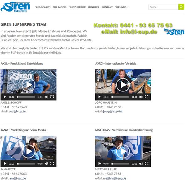 SIREN TEAM Videos