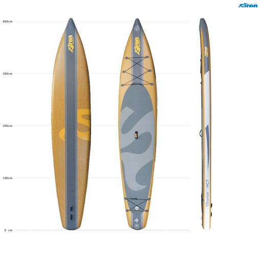 Tiburon - das beste Allround SUP für Touring von SIREN SUPsurfing