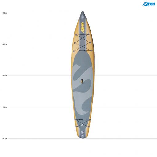 Das schönste SUP Board aufblasbar von SIREN SUPsurfing - der tiburon 13.3 HCT