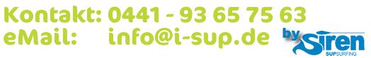 Kontakt zu SIREN SUPsurfing