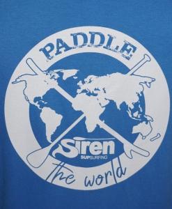 Paddelshirt für Stand Up Paddling von SIREN SUPsurfing