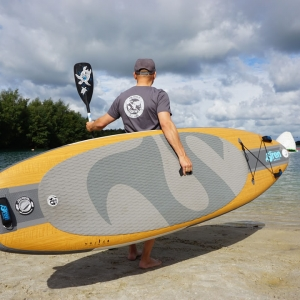 Stand Up Paddle Shirt von SIREN SUPsurfing