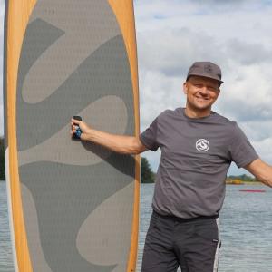 SUP SHIRT in Grau von SIREN SUPsurfing
