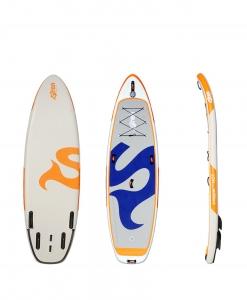 Wildwasser und Waveboard snapper 4,75 von SIREN
