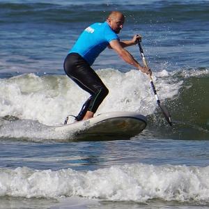 Wave SUP aufblasbare mit bestem Test von SIREN SUPsurfing: guppy 8.2 HCT