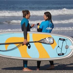 SIREN WaveSUP guppy 8.2 HCT, das beste Board für die Welle inflatable