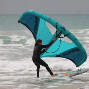 Wing mit aufblasbarem SUP - guppy 8.2 HCT von SIREN SUPsurfing