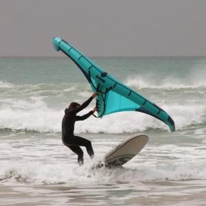 guppy 8.2 HCT das aufblasbare Spass SUP von SIREN auch zum Wingsurfing