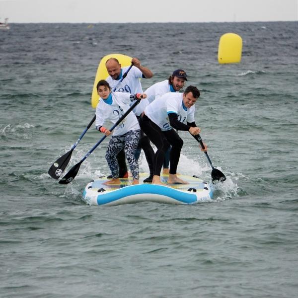 BIG SUP Challenge mit Team Siren auf dem moby