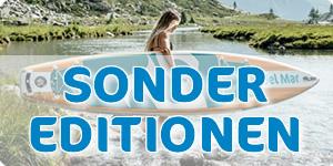 Sonderedtionsboards von SIREN SUPsurfing