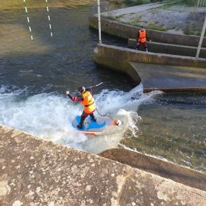 Norden Rocks Hildesheim Wildwasser SUP